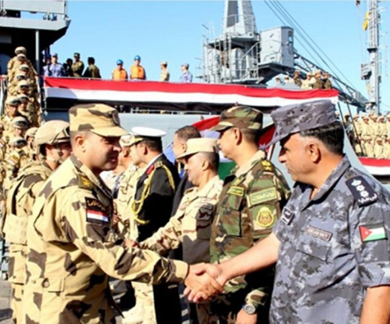 Egyptian Forces Arrive in Jordan for 'Aqaba 4' Military Drill