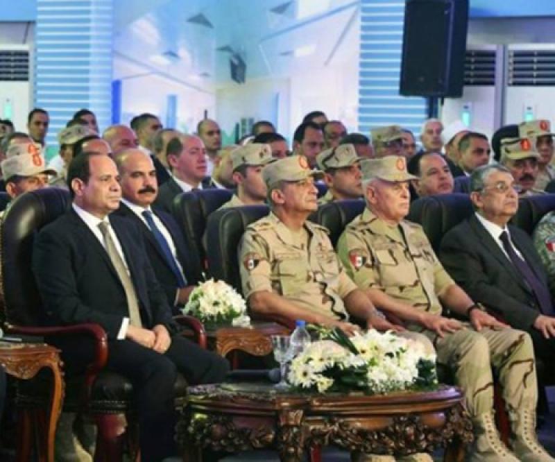Egyptian President Inaugurates Military Hospital