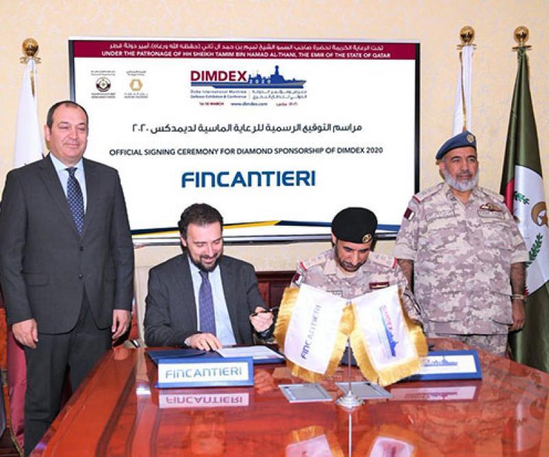 Fincantieri Returns to DIMDEX 2020 as Diamond Sponsor