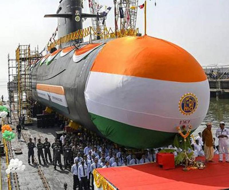 Fourth Indian Scorpene®-Class Submarine Launched