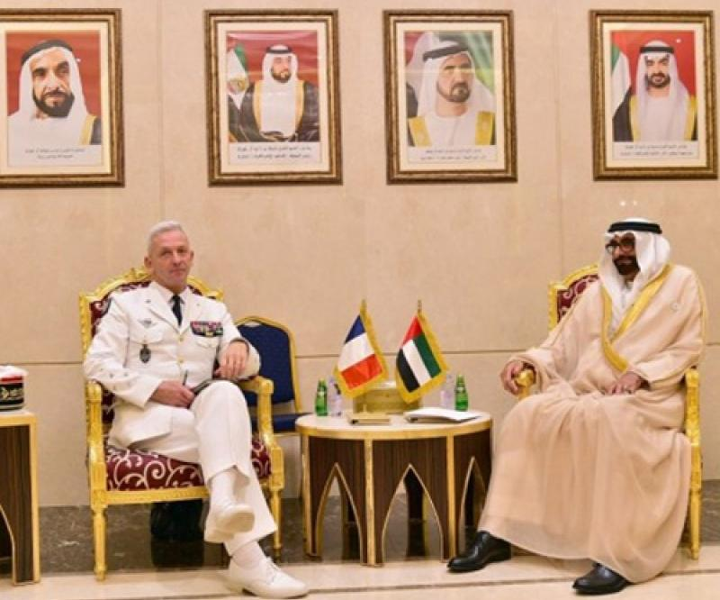 French Chief of Defense Staff Visits UAE