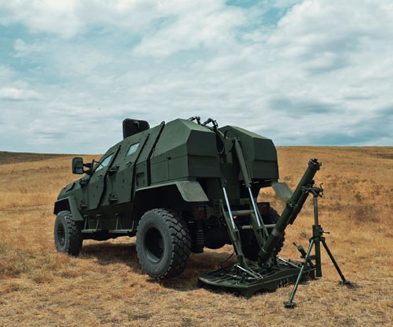 Georgia to Export New Armoured Vehicle to Middle Eastern Country