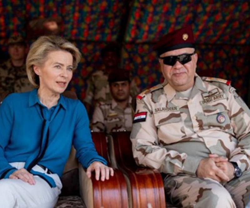 German Defense Minister Concludes Visit to Iraq