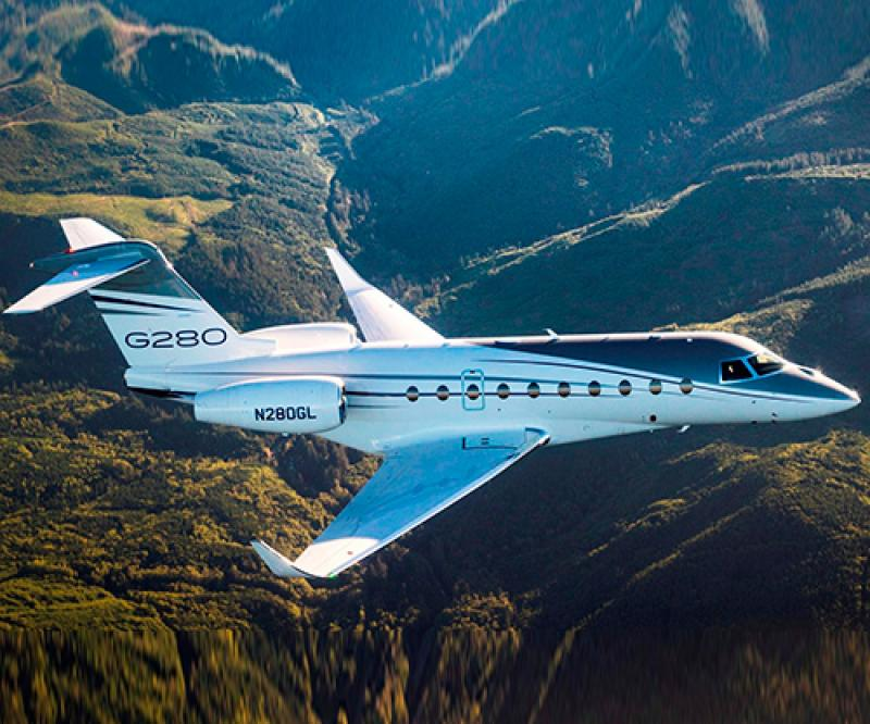 Gulfstream G280 Sets City-Pair Record on Renewable Fuel