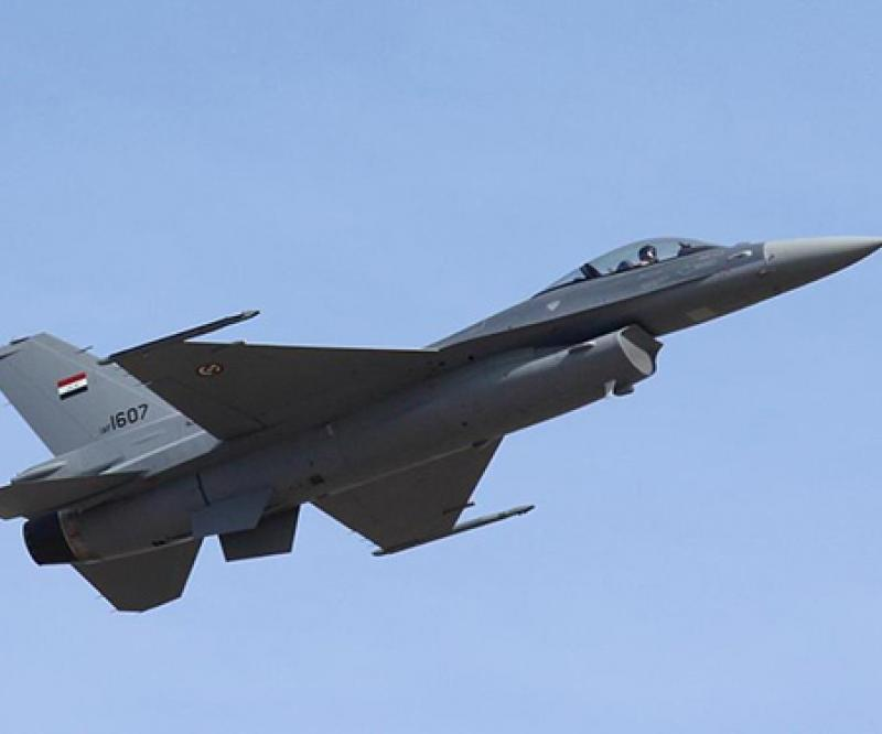 Harris Wins Increase to EW Contract for International F-16s