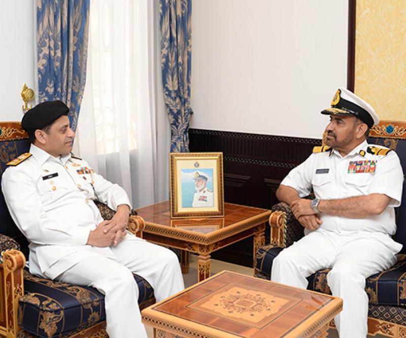 Head of Pakistan Maritime Security Agency Visits Oman