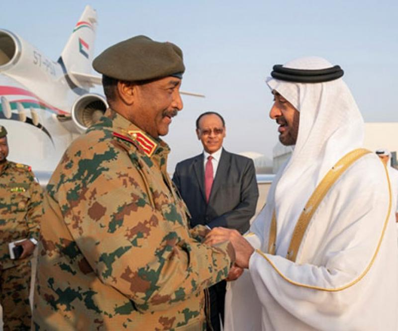 Head of Sudan's Transitional Military Council Visits UAE, Egypt