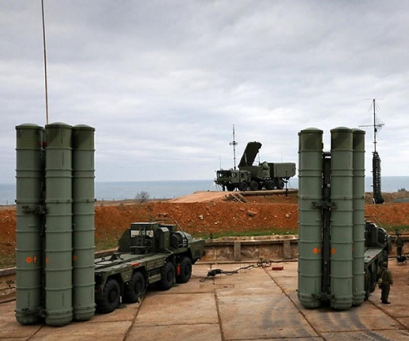 India Inks $5.43 Billion Deal for S-400 Air Defense Systems
