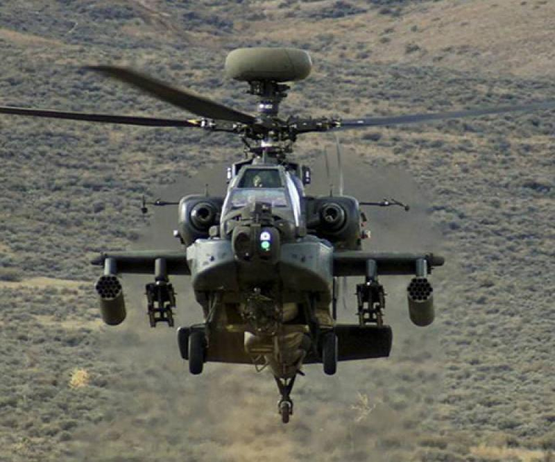 India Requests Support for Six AH-64E Apache Helicopters