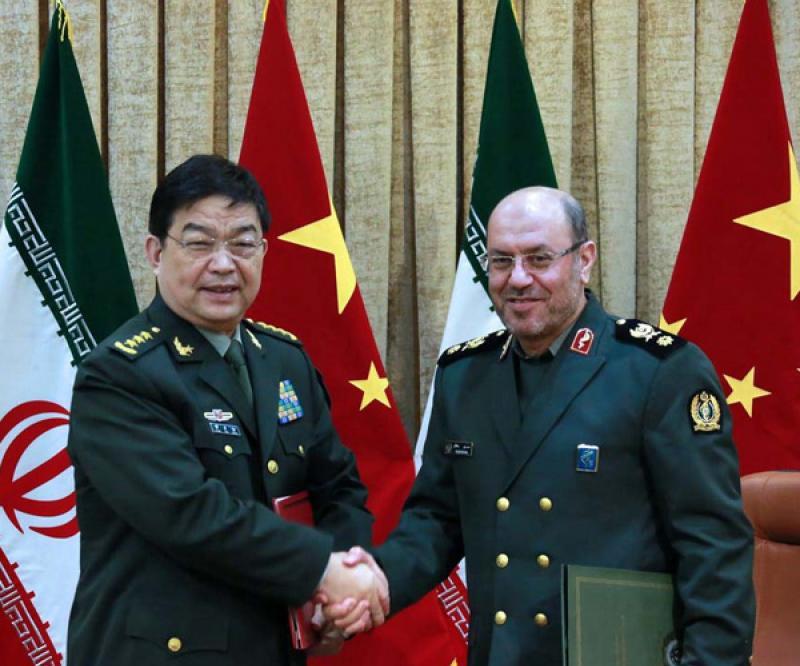 Iran China Sign Defense Military Agreement Al Defaiya