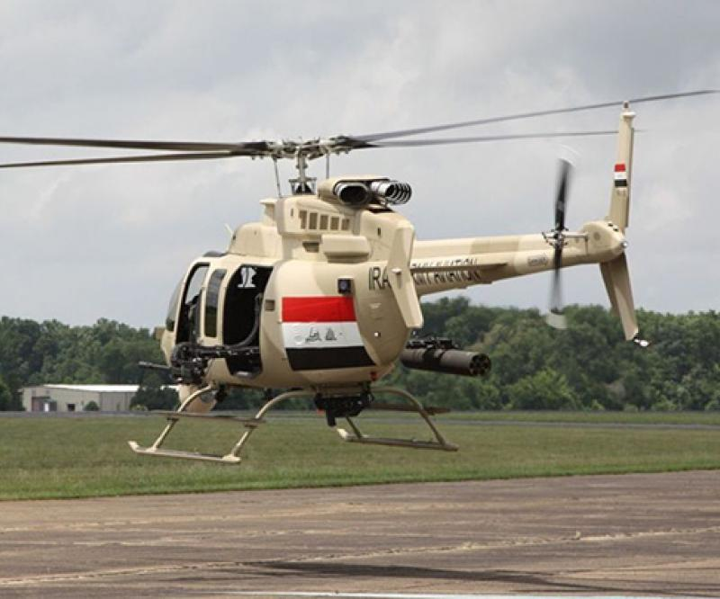Iraq Requests Five Armed Bell 407GX Helicopters