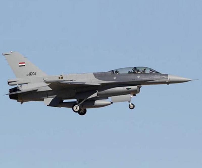 Iraqi F-16 Fighter Jet Carries Out First Joint Air Mission