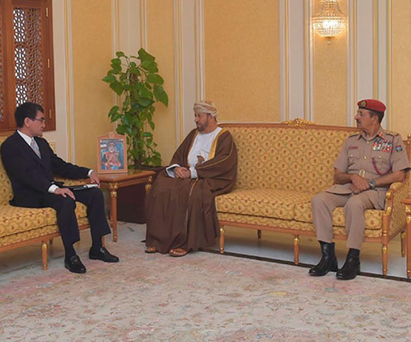 Japanese Defense Minister Visits Oman