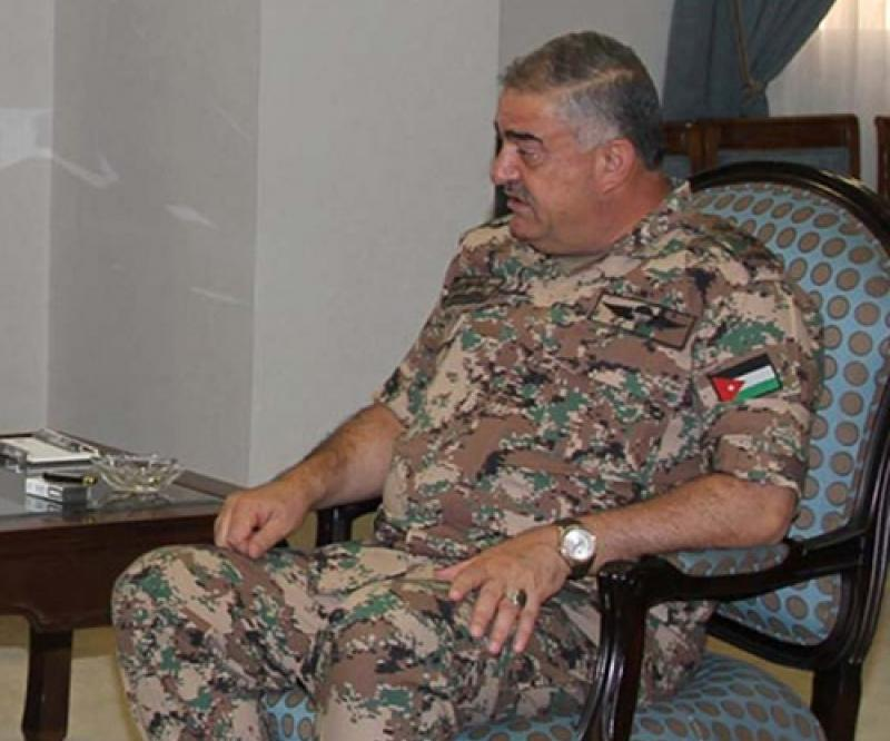 Jordanian Army Chief Meets Foreign Counterparts
