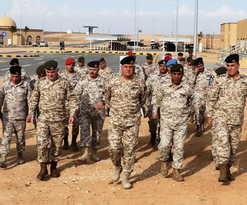 Jordanian Army Chief Visits Sheikh Mohammad bin Zayed Training City