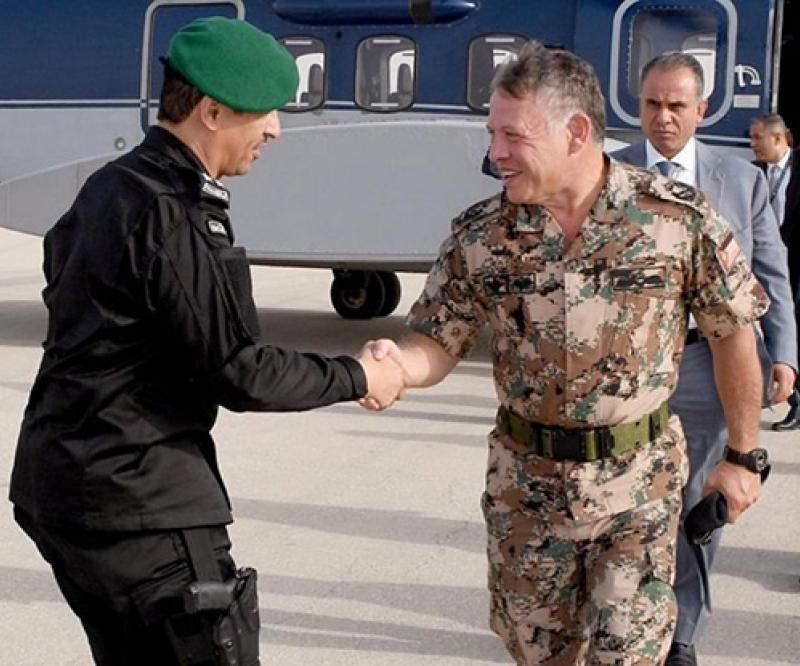 Jordanian King Attends Closing Ceremony of Gulf Shield 1