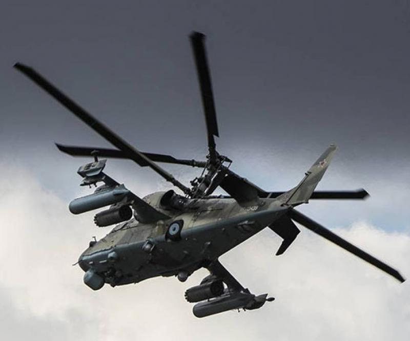 Ka-52 Attack Helicopter Gets Broadband Communications Suite