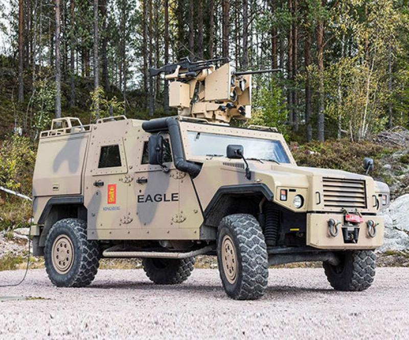 Kongsberg to Provide Remote Weapon Stations (RWS) to Canadian Army
