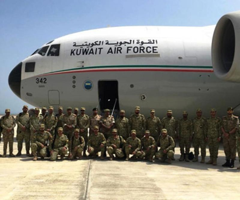 Kuwaiti National Guard Participates in Joint Drill in Bahrain