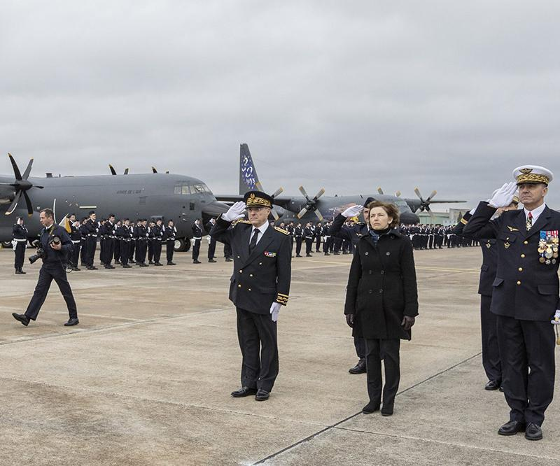 France's Armée de l'Air Welcomes First C-130J Super Hercules