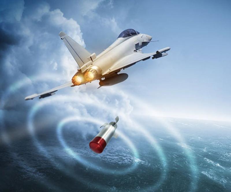 Leonardo's BriteCloud Decoy Flies Toward Service on RAF Typhoons