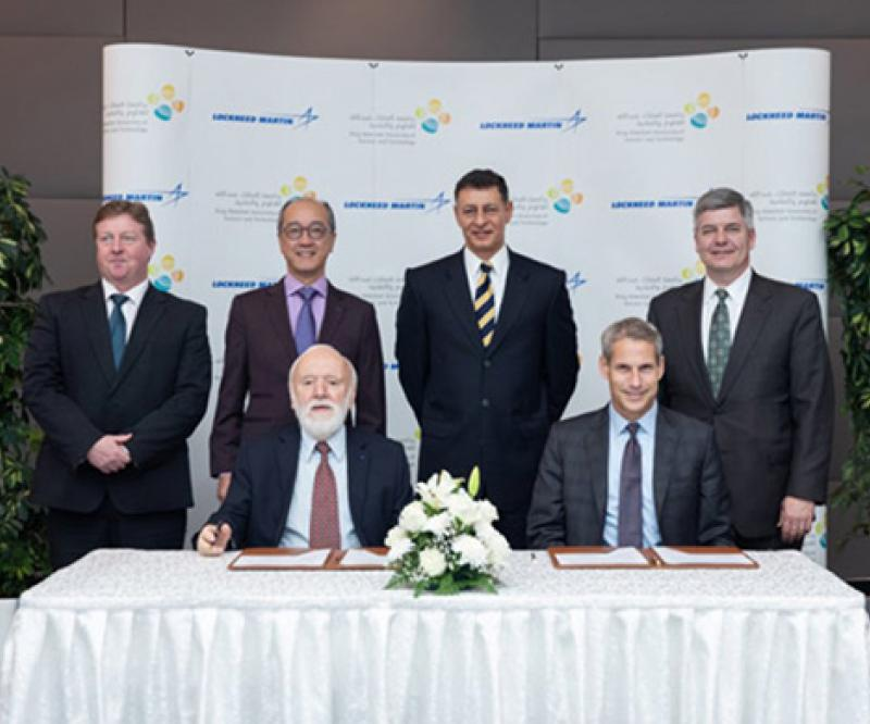 Lockheed Martin, KAUST Sign Master Research Agreement