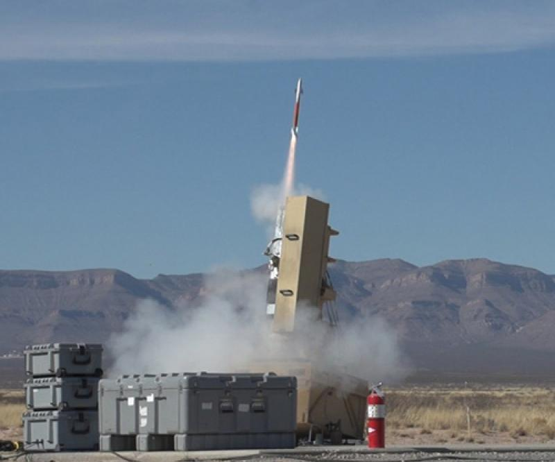 Lockheed Martin's Miniature Hit-to-Kill Missile Conducts New Test