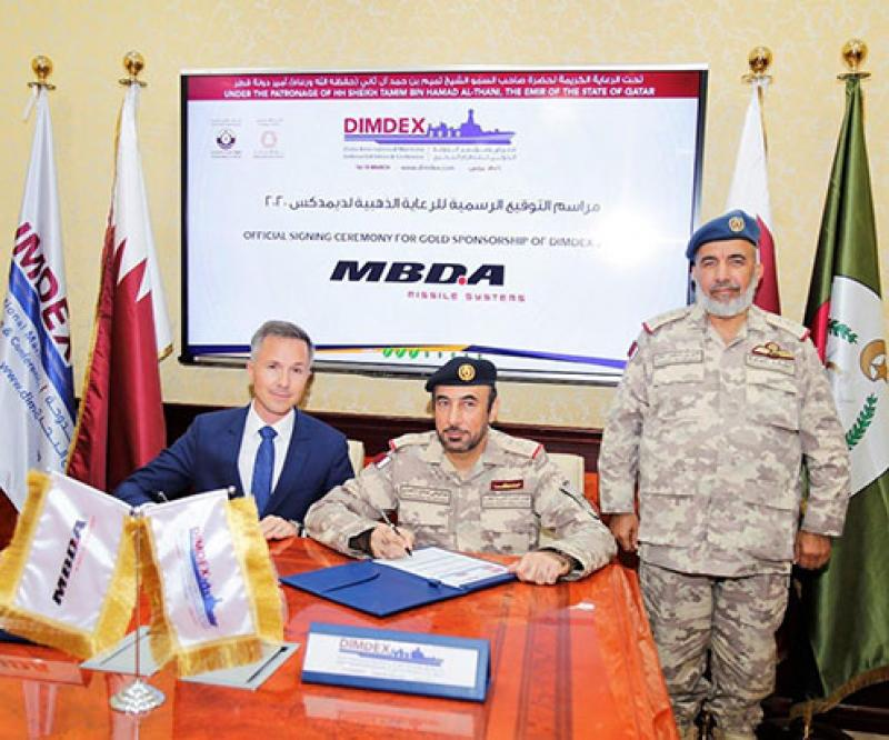 MBDA Returns to DIMDEX 2020 as Gold Sponsor