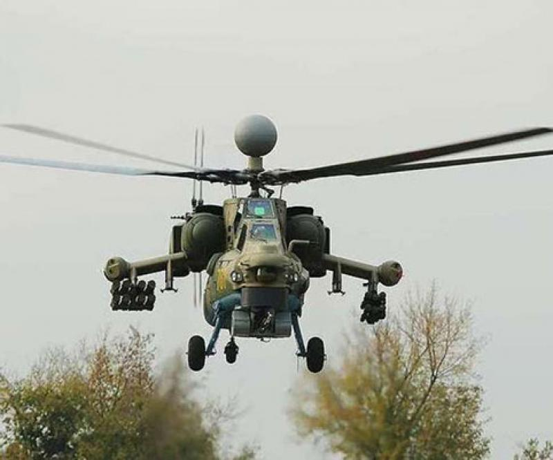 Modernized Mi-28NM Attack Helicopter to Get New Guided Missile