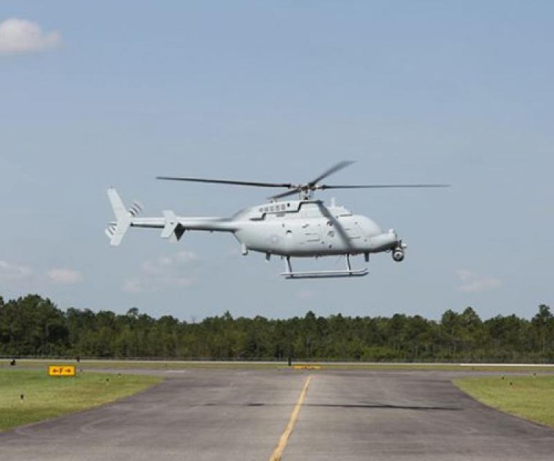 NGC Begins MQ-8C Fire Scout Flight Tests in Missouri