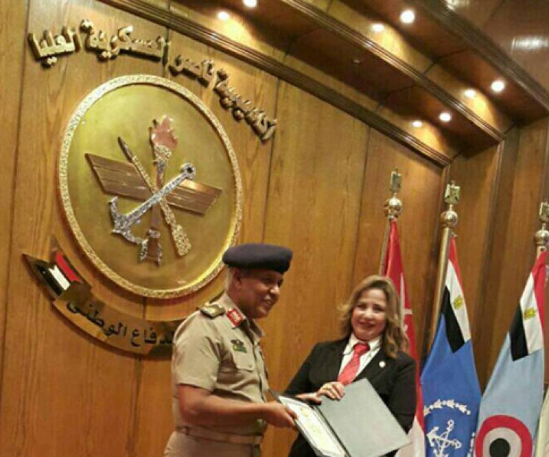 Nasser Higher Military Academy Delegation Visits Oman