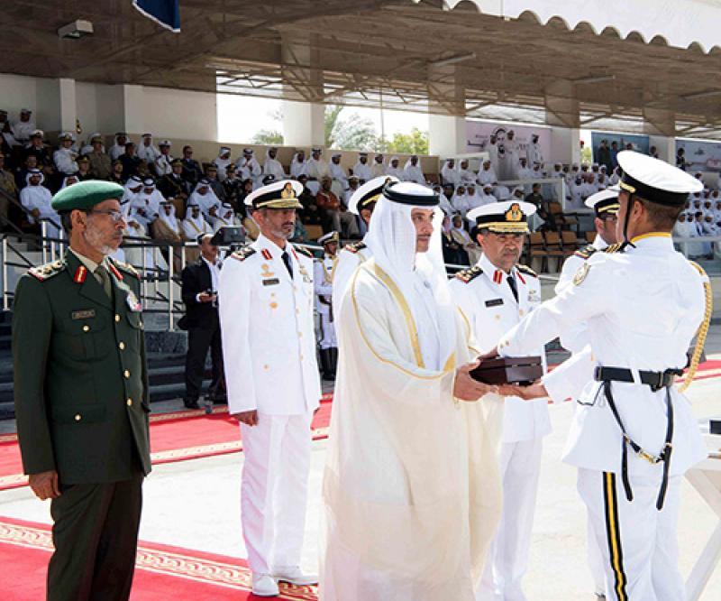 Naval College in Abu Dhabi Hosts Graduation Ceremony