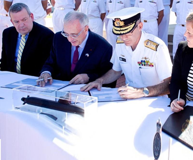 Naval Group, Australia Sign Strategic Partnering Agreement