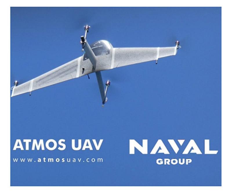 Naval Group Selects Atmos UAV for UAS Testing