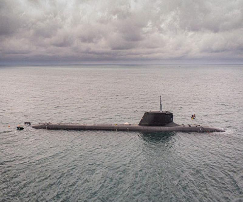 Naval Group Starts Sea Trials for SSN Suffren