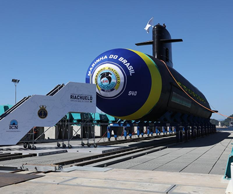 Naval Group Witnesses Launch of First Brazilian Scorpène® Submarine