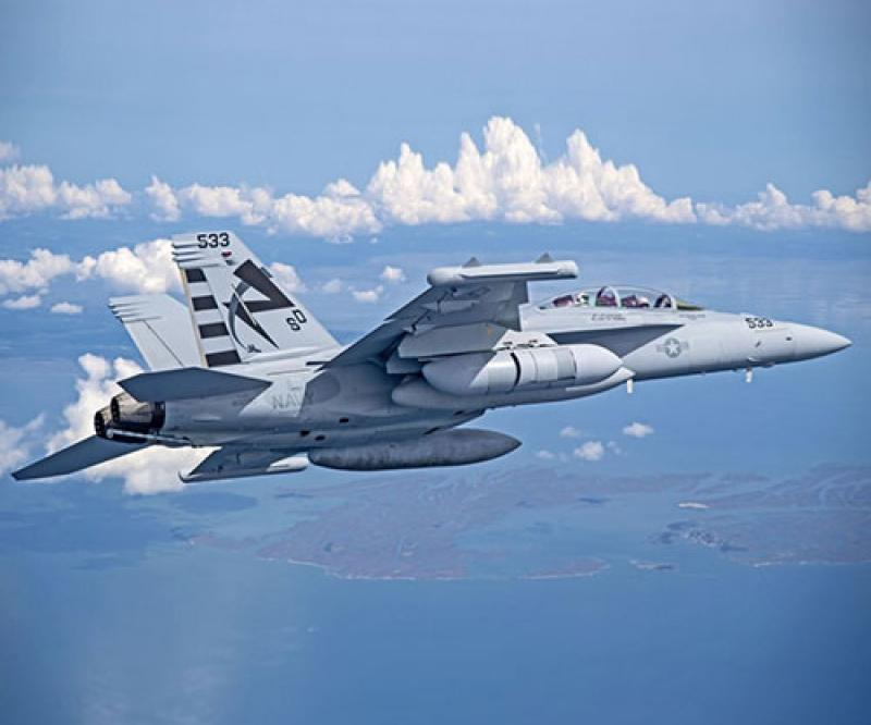 Next Gen Jammer Mid-Band Concludes First Flight Test on EA-18G Growler