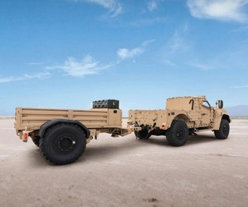 Oshkosh Defense to Produce Trailers for Joint Light Tactical Vehicle (JLTV)