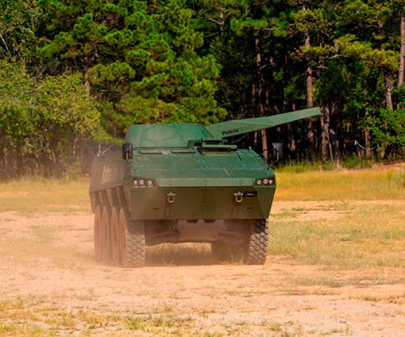 Patria, Kongsberg Team Up for U.S. Turreted Mortar Programs