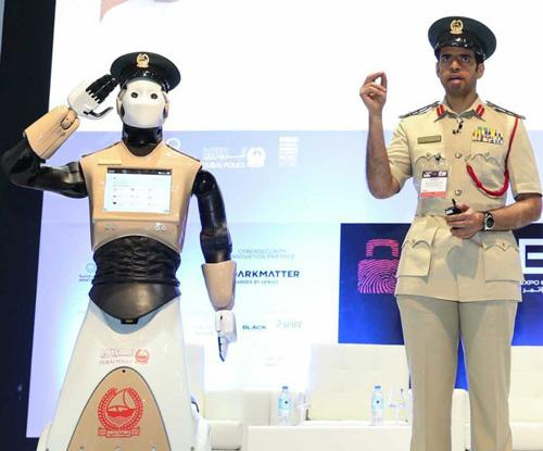 Dubai Launches World's First Operational Robot Policeman