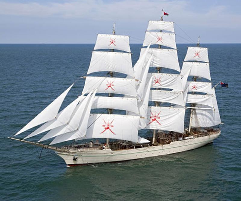 "RNOV ""Shabab Oman II"" Starts 4th International Voyage"