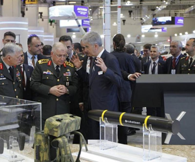 Roketsan Left Strong Impression at IDEF 2019