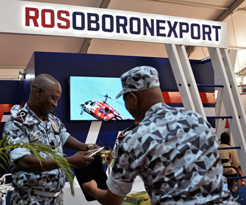 Rosoboronexport Helps Make Africa Safe