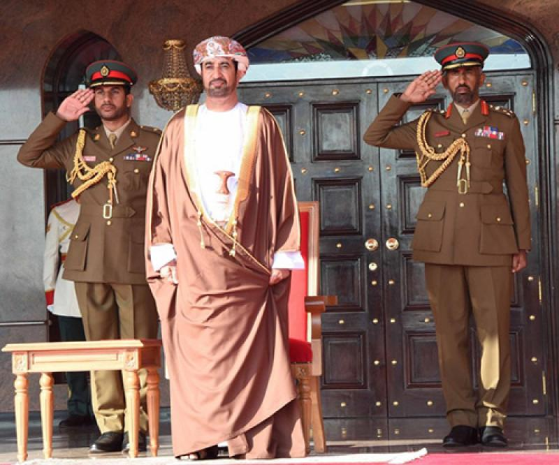 Royal Army of Oman Holds Graduation Ceremony