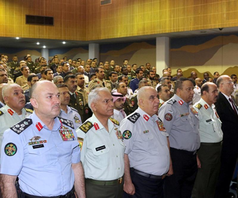 Royal Jordanian Command & Staff College Holds Graduation Ceremony