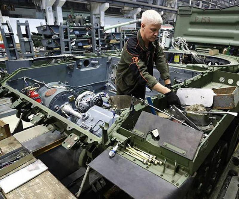 Russia Starts Developing Combat Robotic Vehicles