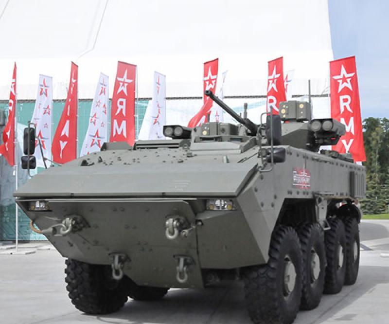 Russia Starts Promoting Export Version of Boomerang Universal Combat Platform