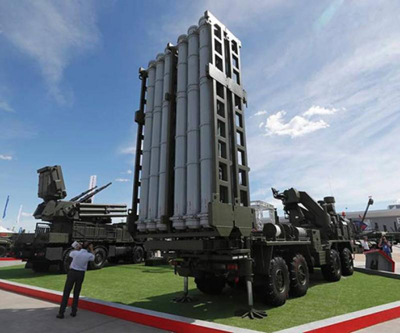 Russian Aerospace Force Receives First S-350 Medium-Range Air Defense System