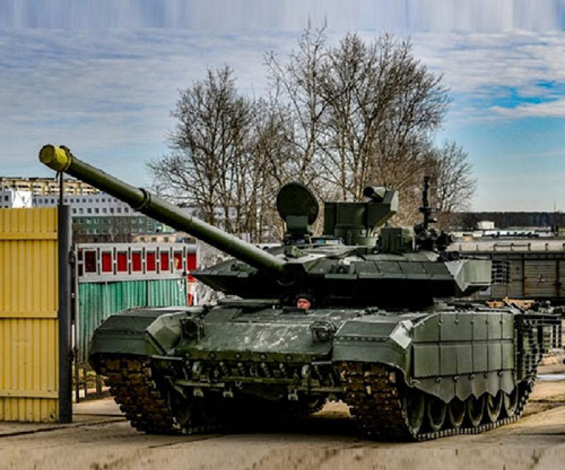 Russian Army Receives Upgraded T-90M Tanks, Malka Self-Propelled Guns