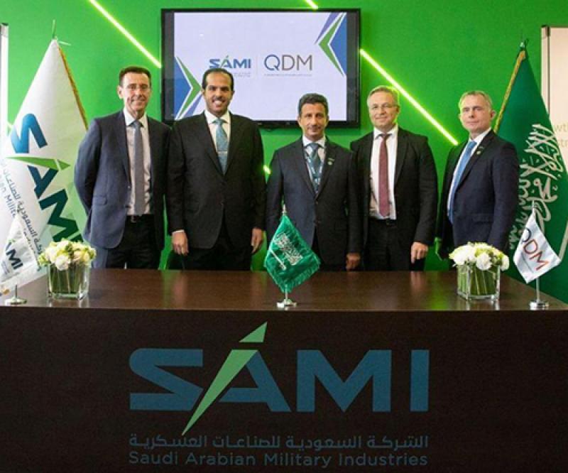 SAMI, QDM to Develop Saudi Capabilities in Testing Defense Products